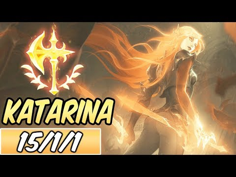 S+ NEW CONQUEROR KATARINA | Build & Runes | Deathsworn Katarina | League of Legends | SEASON 10