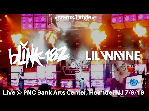 Blink 182 & Lil Wayne LIVE Enema Of The State 20th Anniversary Tour *cramx3 Concert Experience*