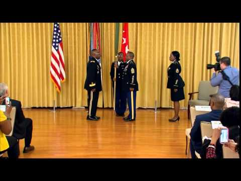 Promotion Ceremony in honor of Colonel Richard Dix to Brigadier General (Chapter 2)