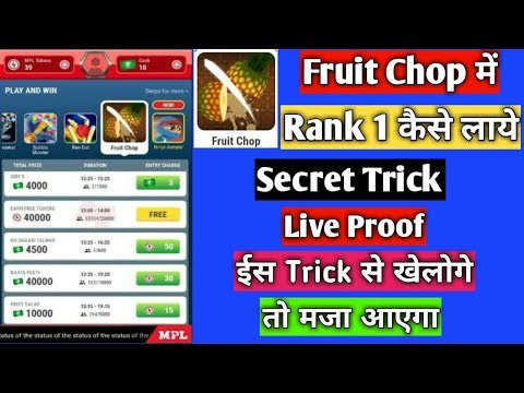 Mpl Pro Fruit Dart Game Live H Ck Get 6000 Score Every Time