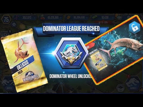 Jurassic World - Gillicus Dominator League