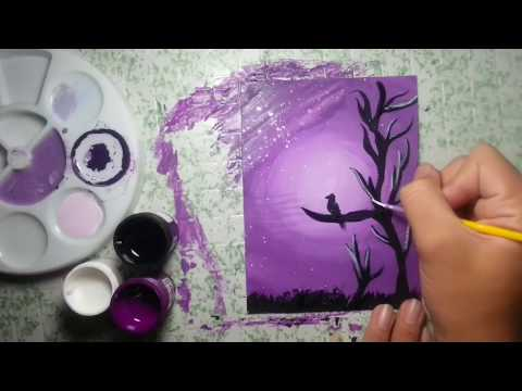 How To Paint With Poster Colors Youtube