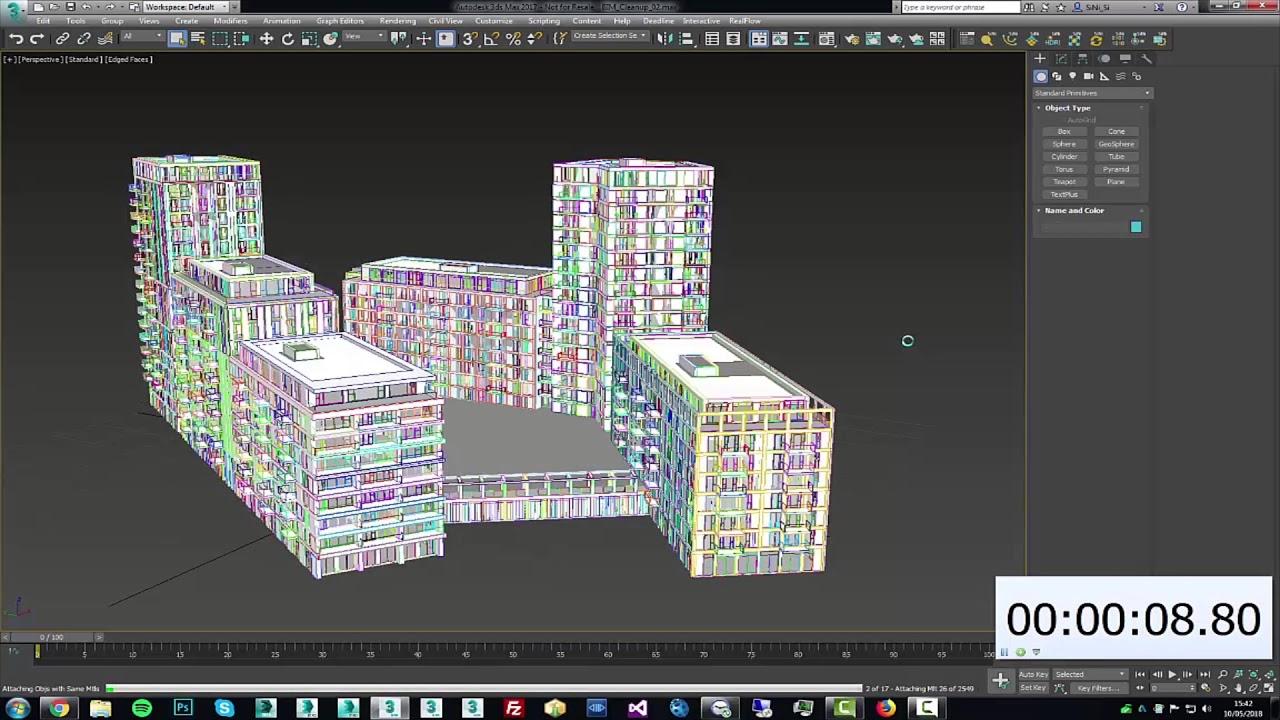 Sculpt plugin - Attaching a BIM/REVIT model in 3ds Max