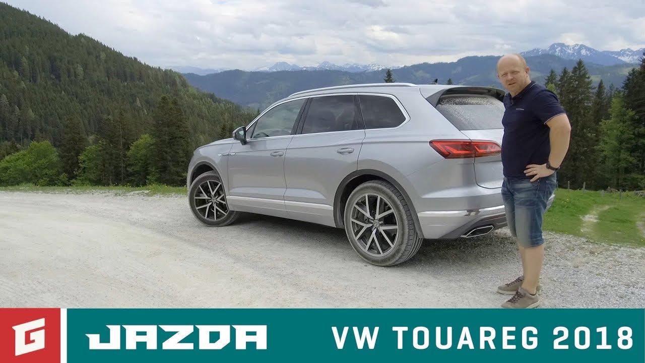 Volkswagen Touareg SUV III. (2018) - prvá jazda - GARÁŽ.TV - Rasťo Chvála - YouTube