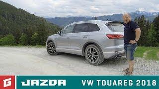 Volkswagen Touareg SUV III.  (2018) - prvá jazda - GARÁŽ.TV - Rasťo Chvála