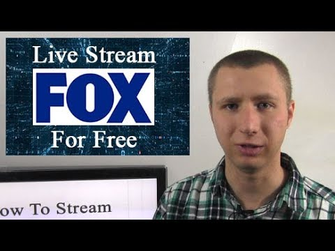 How To Live Stream Fox For Free Without An Antenna