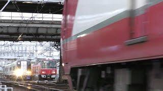 名鉄2017西枇杷島駅2【4K】