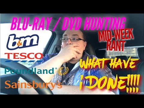BLU-RAY / DVD HUNTING with Big Pauly (18/04/2018) - What Have I Done!!!