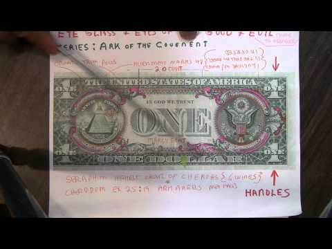The Ark of the Covenant is the ENTIRE Green side of a [ ONE DOLLAR BILL ]  Please prove me wrong