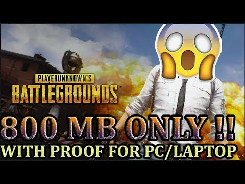[5 MB] How To Download PUBG For PC/ Laptop || Highly Compressed || FULL EXTRACTED||