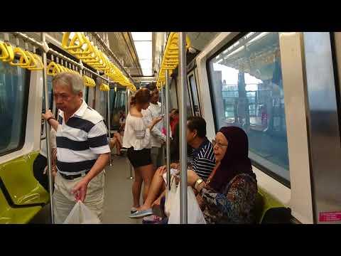 [SMRT] Ride On Bukit Panjang LRT Bombardier C801A From Bukit Panjang (BP6) To Choa Chu Kang (BP1)