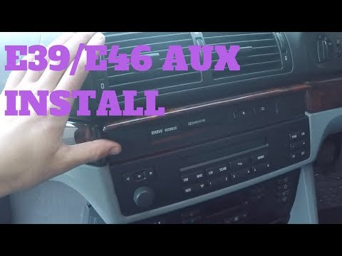 BMW E39 5 series /E46 Pre September 2002 Aux install (Cheap!)