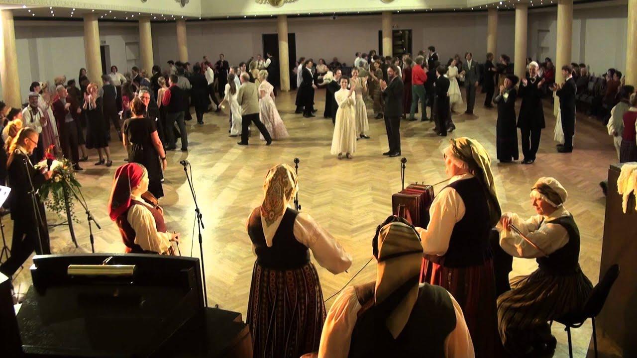 """00025 Folkloras mūzikas un deju kopas DANDARI 35 g. jubilejas  """"kadriļu balle"""""""""""