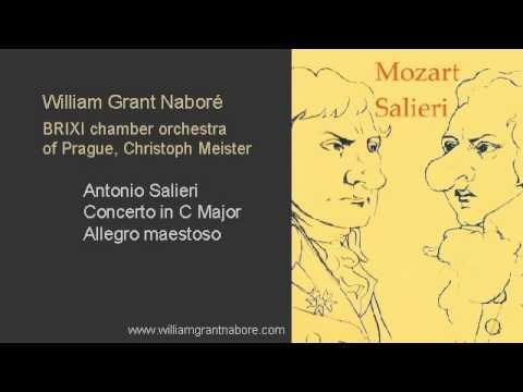 William Grant Nabore, Salieri piano concerto in C major