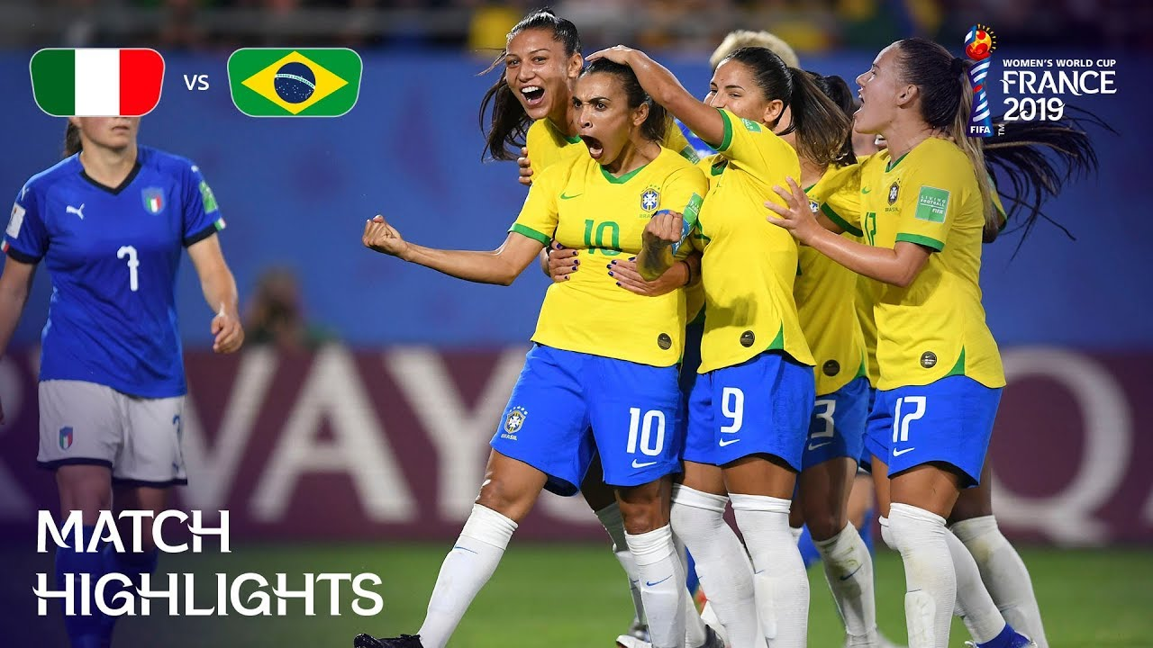 90d14a6b8a4 Italy v Brazil - FIFA Women's World Cup France 2019™ - YouTube