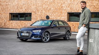 Im 2019 Audi A4 Facelift Avant 35 TDI (163 PS) in Tirol 🏔 Fahrbericht | Review | POV | Test-Drive.