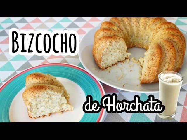 BIZCOCHO DE HORCHATA