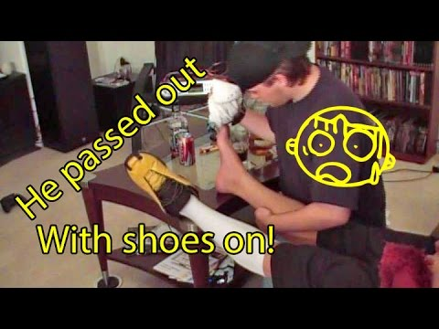 Steal his adidas - He passed out drunk - Sleeping with shoes on from YouTube · Duration:  4 minutes 45 seconds