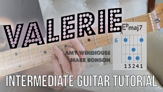 Download lagu  ValerieGuitar Tutorial Electric Guitar Amy Winehouse Mark Ronson Jazzy chords and rhythms MP3