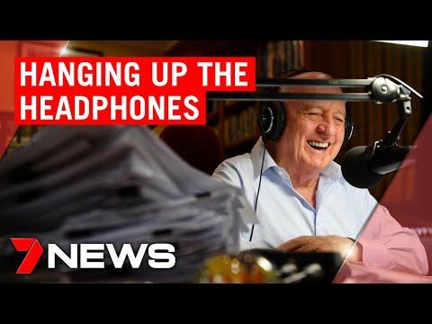 2GB Shock Jock Alan Jones Says Goodbye After 35 Years On Radio | 7NEWS