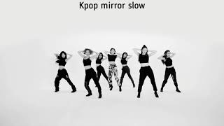 (mirrored & 50% slowed) BIRTHDAY 'SOMI' Dance Practice Choreography Video
