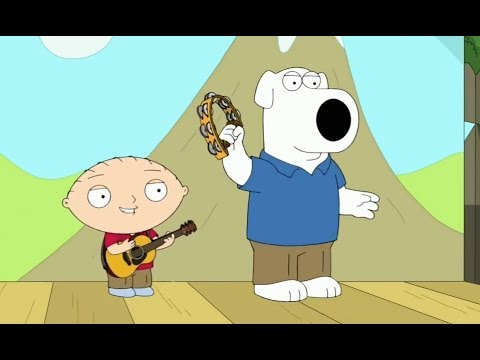 Family Guy - Stewie & Brians Band (Red Shirt, Blue Shirt)