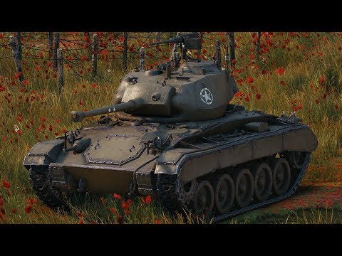 World of Tanks M24 Chaffee - 7 Kills 3K Damage