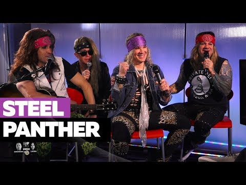 Who Is Steel Panther & Why are They Crashing Ebro In The Morning?!