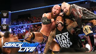 Video SAnitY wreak havoc on The Usos in their debut: SmackDown LIVE, June 19, 2018 download MP3, 3GP, MP4, WEBM, AVI, FLV Juni 2018