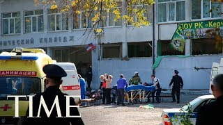 Russian Officials: A Student Gunman Killed 17 & Injured 40 At A Vocational College In Crimea   TIME