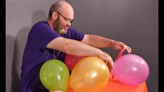 Balloon Bursting Behind The scenes UNCUT read description Tangobaldy™ Family Friendly Fun video