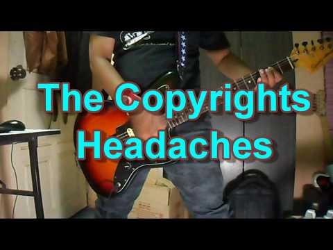 The Copyrights - Headaches (Guitar Cover)