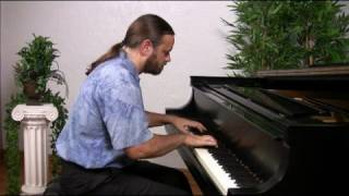 Bach: Invention 12 in A major (older version) | Cory Hall, pianist-composer