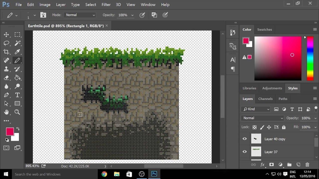 Photoshop Tutorial: Pixel Grid