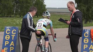 Петропавловск велоспорт На приз А.Александра Винокурова 4 день 20 км разделка