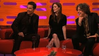 Matthew McConaughey explains his film poster pose - The Graham Norton Show: Episode 14 - BBC One