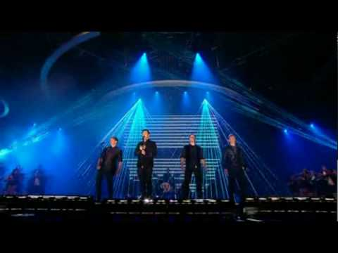 Westlife- What About Now on X Factor Results Show 25th October