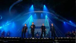 Westlife  - What About Now on X Factor Results Show 25th October