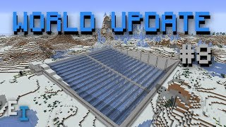 Minecraft World Update #8 - 19,500/h Ice Farm!
