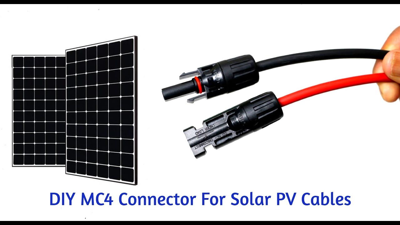 How To Make Mc4 Connector For Solar Pv Cables 10 Steps Instructables