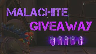 Fortnite STW PVE: Malachite Giveaway