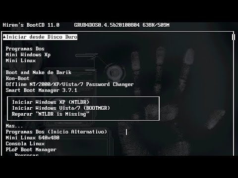 How to run Hiren's BootCD from a USB Flash Drive Windows 10/8/7