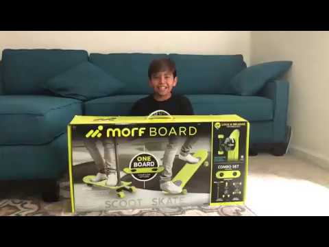 Morf Board Unboxing