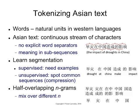 IR4.4 Tokenizing Asian languages