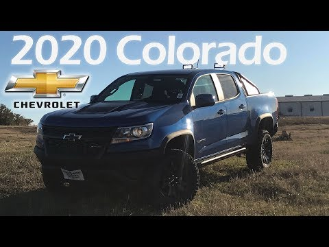 2020 Chevrolet Colorado ZR2 Short Box Review