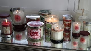 Christmas / Holiday Candle Haul ❄ B&bw, Glasshouse, Red Daisy And More!