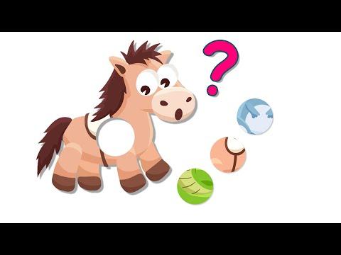 Животные для детей по Системе МОНТЕССОРИ Развивающие Мультики для Детей Как говорят животные
