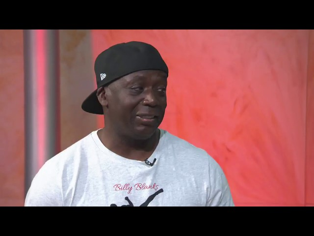 Fitness guru Billy Blanks demonstrates his new Boom Boxing workout on GDLA