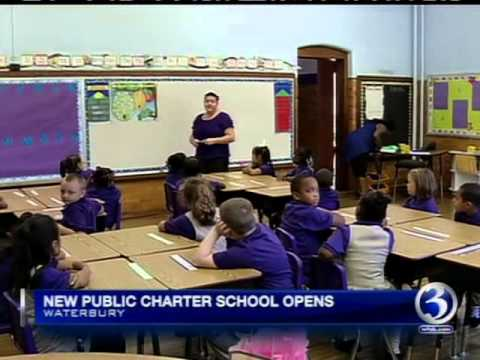 Brass City Charter School Opens for First Day of Class on WFSB - 09-04-13