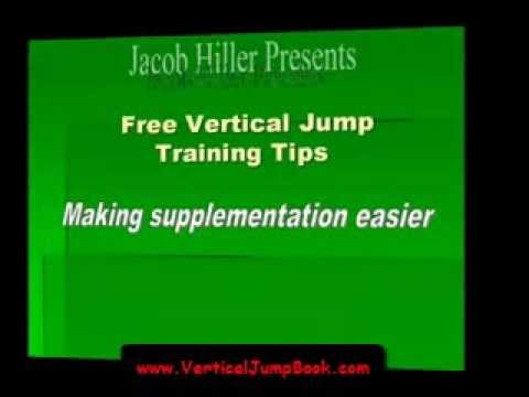 The Jump Manual - Vertical Jump Training Supplements - Jacob Hiller